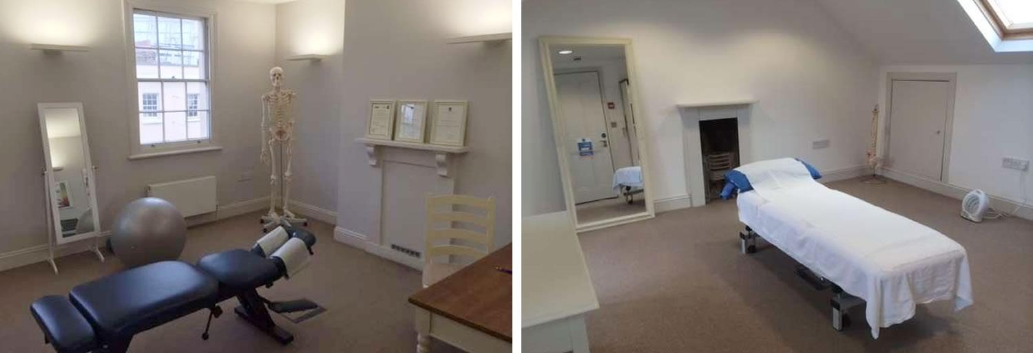 Greenwich Chiropractic clinic images